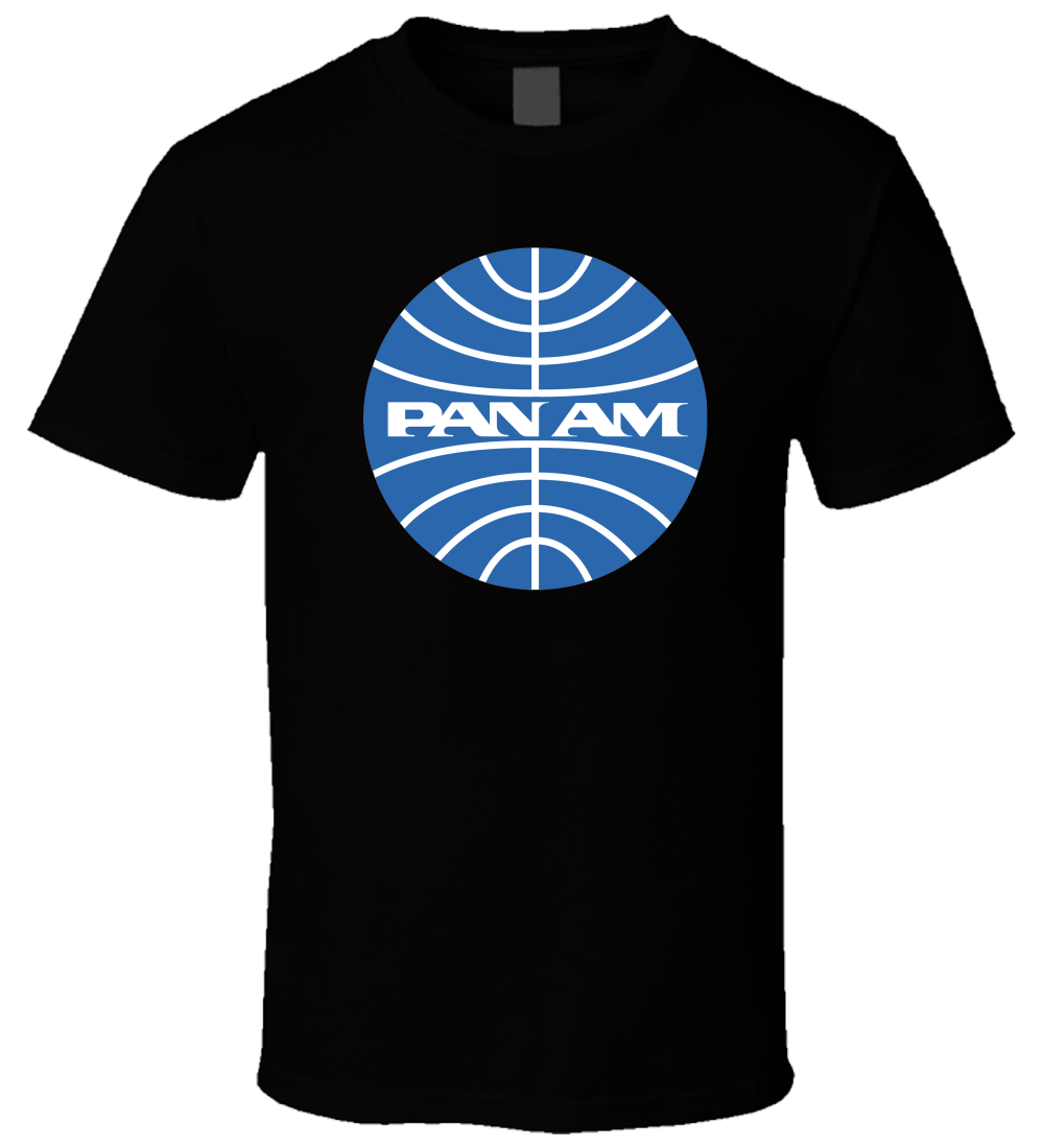 Pan Am 5 Men T Shirt Streetwear Funny Print Clothing Hip-Tope Mans T-Shirt Tops Tees 2018 New 100% Cotton T-Shirts Men