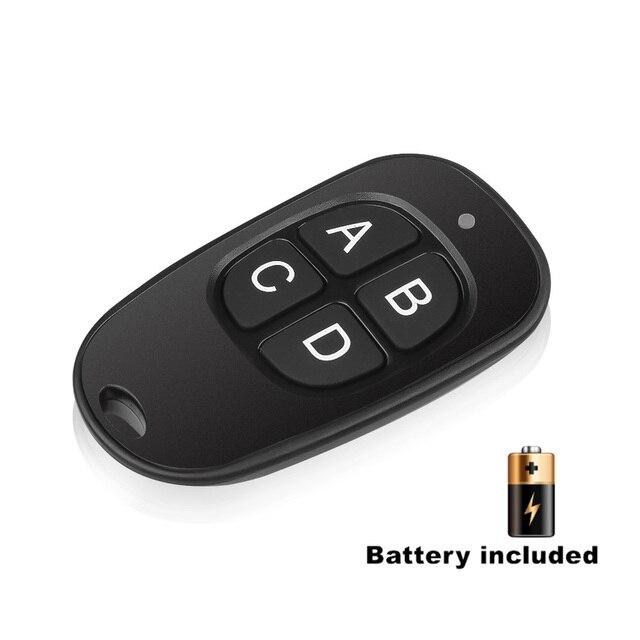 433 МГц универсальный беспроводной пульт дистанционного управления клон 4 клавиши копия клонирование двери гаража электрический контроль Лер Дубликатор ключ автомобиля