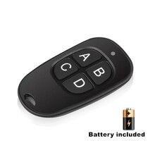Clon de Control remoto inalámbrico Universal para coche, 433MHz, 4 teclas, copia de clonación, puerta de garaje, mando eléctrico, duplicador de llaves