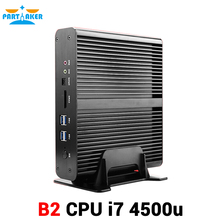 Intel i7 4500U Dual LAN 4K 1080P Resolution Dual display Nettop PC, i7 Desktop Computer 300M Wifi(China (Mainland))