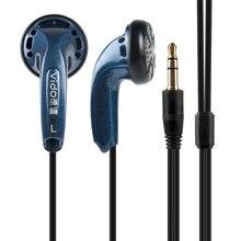 EE Audio VIDO Earbud Dynamic Bass Flat Head Plug HIFI In Ear Earphone White Blac