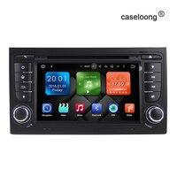Android 7.1 Carro DVD GPS para Audi A4 B6 B7 S4 2002 2003 2004 2005 2006 2007 2008 rádio do carro gps stereo gravador com 2G RAM