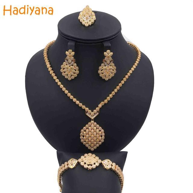 Hadiyana Cubic Zircon 4pcs...