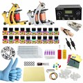 ITATOO New Tattoo Kit Cheap Tattoo Machine Set Kit Tattooing Ink Machine Gun Supplies For Jewelry Weapon Professional CD004