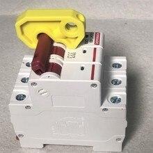 10 шт./лот многополюсный MCB Блокировка мастер Блокировка 1P 2P 3P 4P выключатель Блокировка