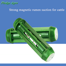 Магниты экстрактор крупного рогатого скота ловушка для желудка магнитные металлические провода Железный рубец гвозди поглотители беря ветеринарные инструменты сборщик молочных