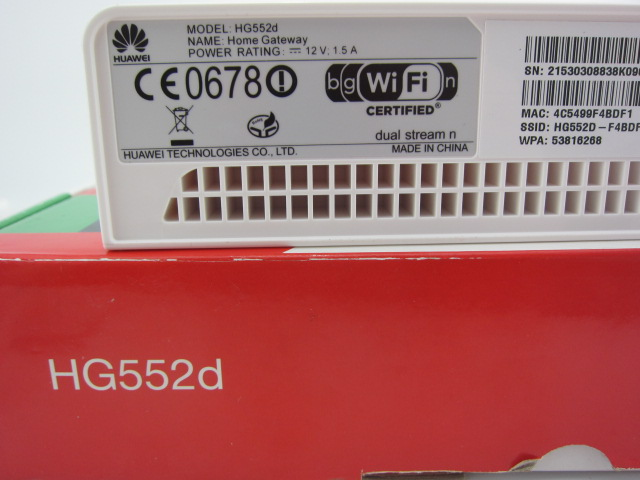 Huawei HG552D ADSL modem/router SIP VoIPX2 new in box unlocked huawei hg552d adsl2 moden router