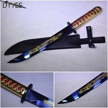 Real Japanese Katana High Manganese Steel Katanas Handmade Japanese Espada Samurai Decorativa Samurai Katana Sword For Sale