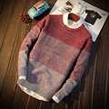 New Style Sweater Dress Thin Slim Fit Round Neck S324 Christmas Sweater Men Pullover Men Male Sweater Pull Homme Marque