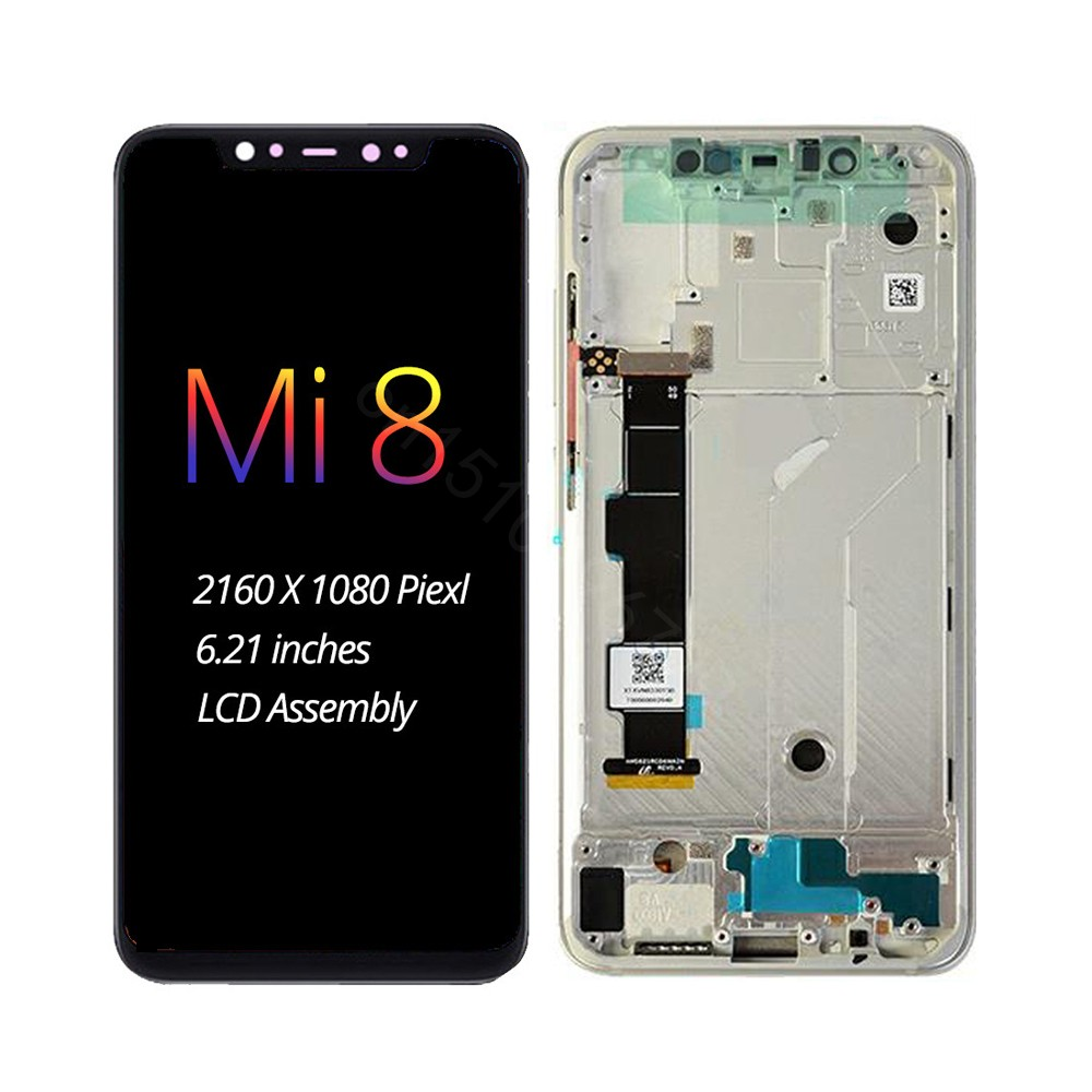 For Xiaomi Mi8 Lite LCD Display Touch Screen Digitizer SE Assembly Mi 8 AMOLED