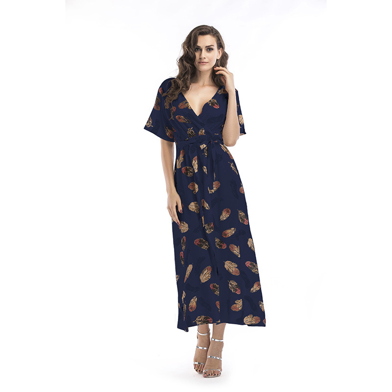 Summer Bohemian Ladies Vintage Dress