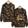 Man Women Casual Fashion Camo Hoodies Pullovers Palace Coat Clothing