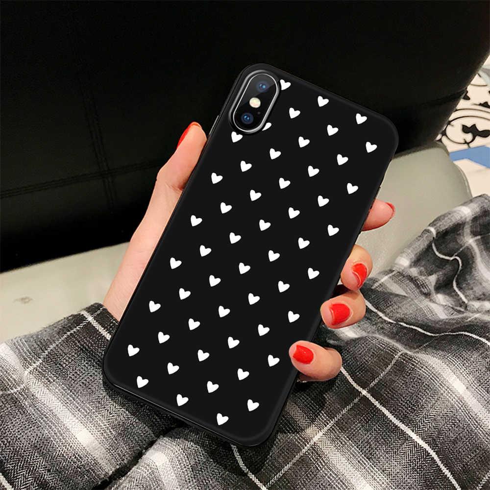 Dier Liefde Hart Zachte Tpu Siliconen Cases Voor Iphone 5 S Se X Telefoon Case Voor Iphone 6S 6 7 8 Plus Xs Max Xr 11 Pro Coque Fundas