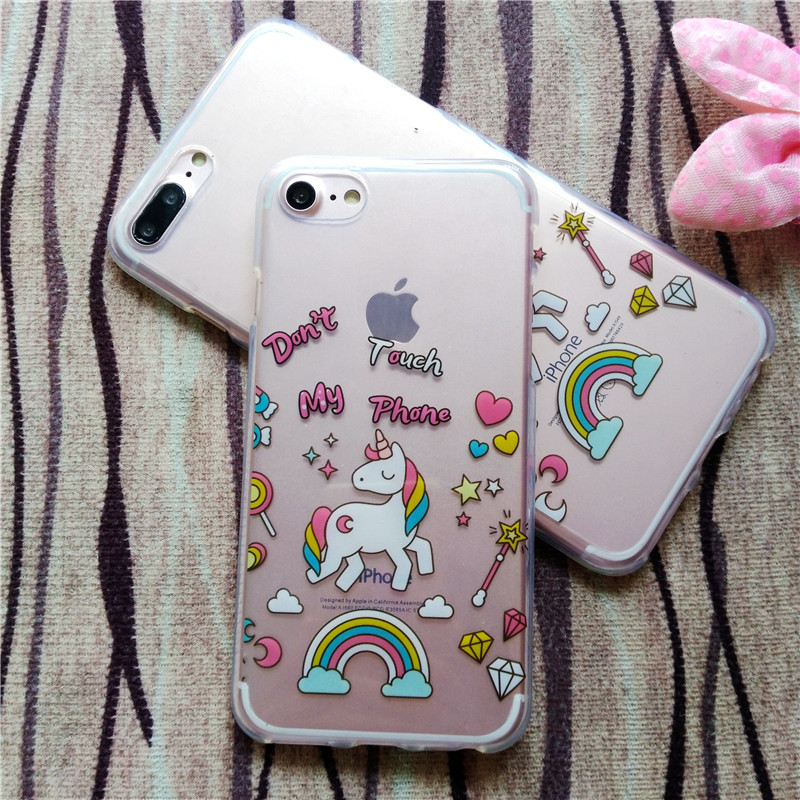 HTB1UHwiRFXXXXXeXXXXq6xXFXXXC - FREE SHIPPING For iPhone 7 7Plus 6 6s Plus 5 5s 3D Rainbow Unicorn Case Horse Cute Cartoon Silicone Rubber Soft Cell Phone Cover Shell