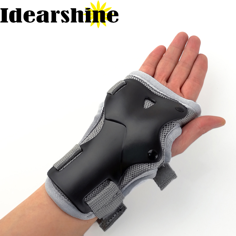 Handledsskydd Support Palm Pads Protector For Inline Skating Ski Snowboard Roller Gear Protection Men Women # 693 Video show
