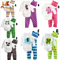 Monkids 3 pçs/set pretty baby clothing define macacões meninos meninas babysuits recém macacões escalada roupas por muito tempo sleeved