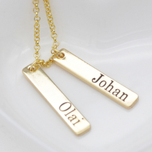 Simple Custom Name Necklace 2018 New Arrival Necklaces Accept Made Any Birthday Gift for Family YP3186