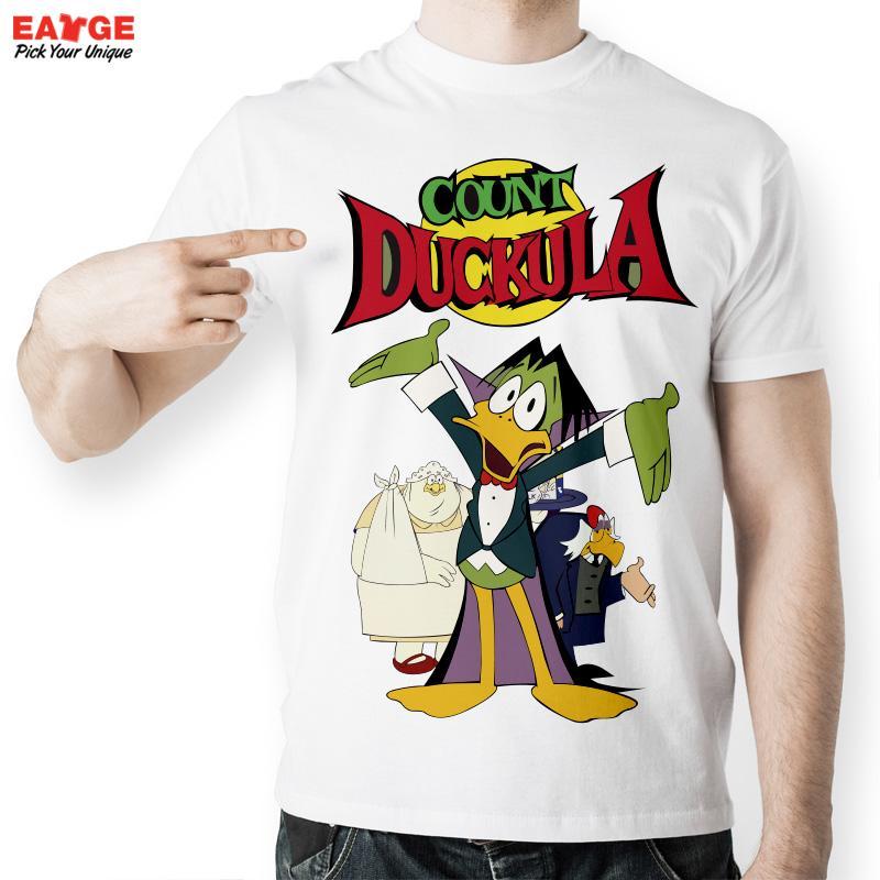 Eatge] camiseta divertida anime Cartoon duckula vampiro familia ...