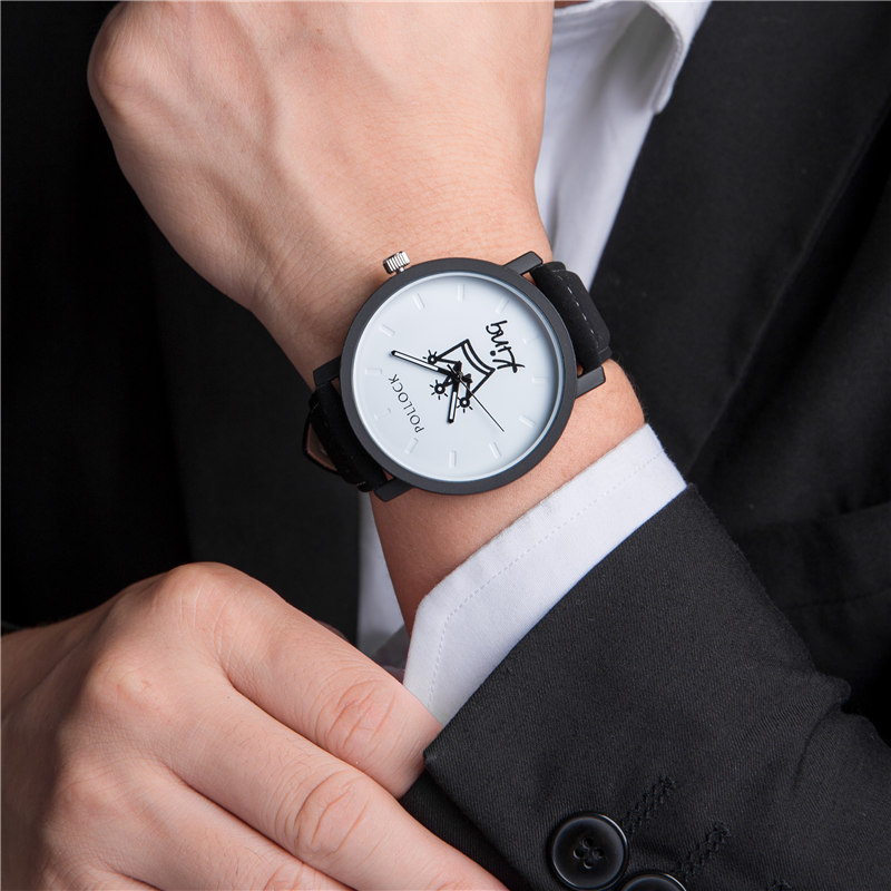 King/Queen Leather Watch 5