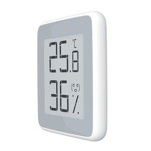Image 3 - 100% Youpin MiaoMiaoCe E Link حبر شاشة عرض مقياس الرطوبة الرقمية عالية الدقة ميزان الحرارة مستشعر درجة الحرارة والرطوبة