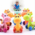 IQANGLE New Hot Q Version of the Giraffe Winding Spring Toys Strange New Children 0-6-12 Months Baby Toys