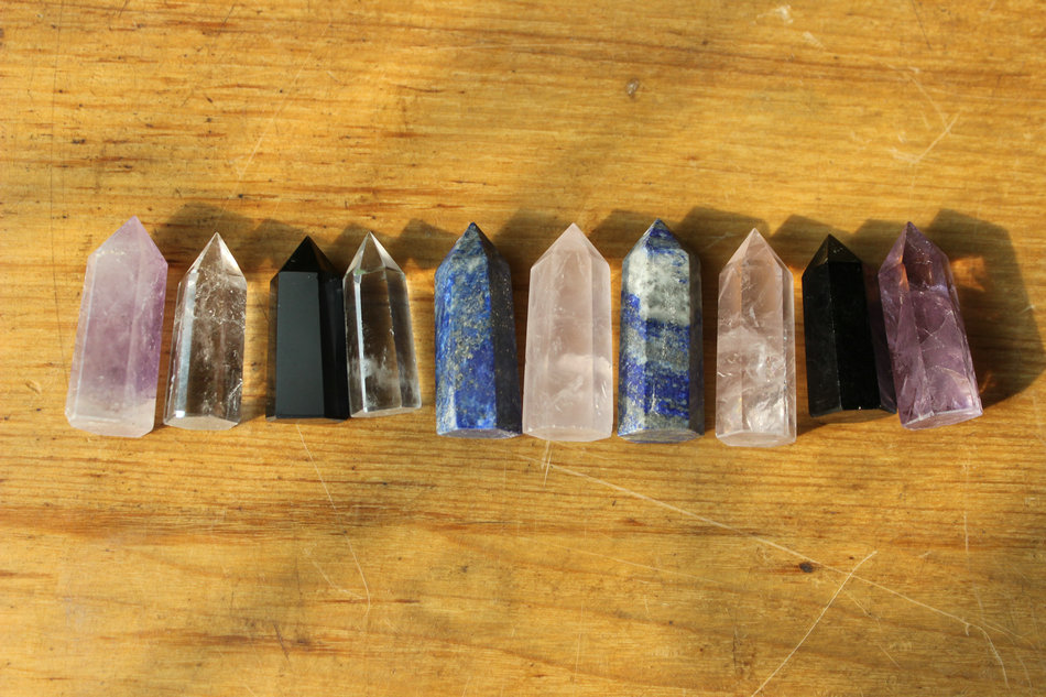Beads Jewelry & Accessories Fashion Style Free 7pc Small Handmade Irregular Natural Clear Quartz Crystal Points Obelisk Tower Pyramid Polished Healing Cristais De Quartzo