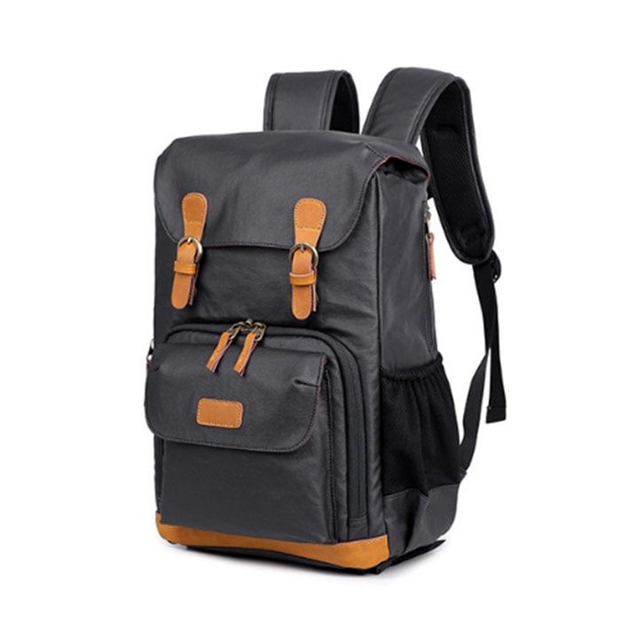 Men's Backpack Male Bookbag Black Waterproof Mochila Masculina Knapsack Travel Mens Backpacks Mochilas Para Hombre coofit dis mujer mochila marca moda nylon impermeable antirrobo mochila school bookbag para adolescentes mochila