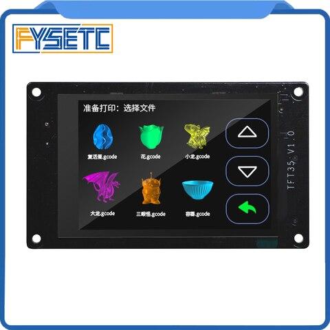 visor da impressora 3d tft35 v1 0 tela sensivel ao toque de 3 5 polegadas