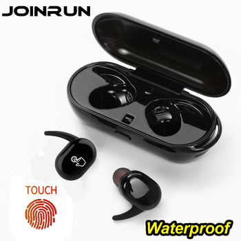 Touch two wireless Bluetooth Earphone Headset IPX5 waterproof True Touch Headset with power bank for phones PC Twins Earbuds