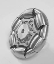 100 мм из нержавеющей стали ролики Omni колеса для мяч баланс ballbot 14183