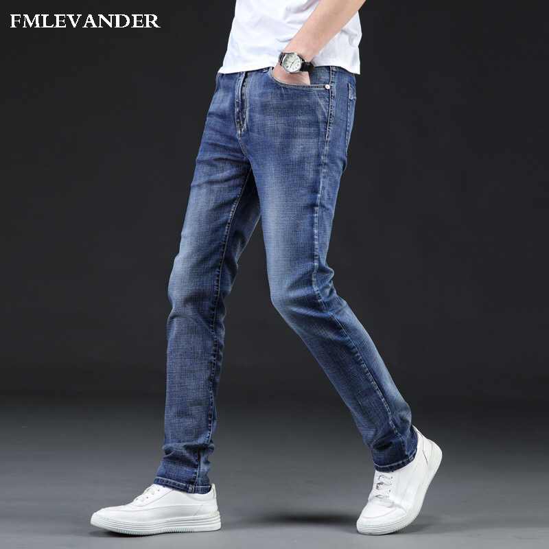 2018 New Men's Fashion Jeans Casual Stretch Plus Size 46 Jeans Classic Trousers Denim Pants Male Jeans Men-in Jeans from Men's Clothing on AliExpress - 11.11_Double 11_Singles' Day 1
