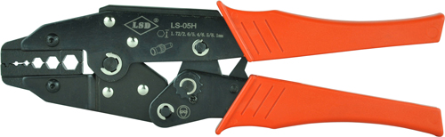 RG58 RG59 RG6 coaxial cable crimping tool also can use for crimp BNC SMA connectors high quality coaxial crimper