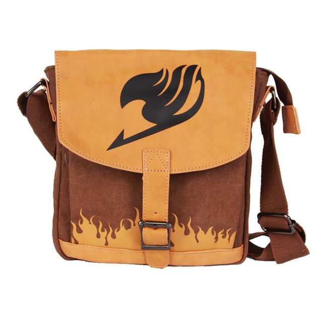 Leather Fairy Tail Crossbody Bag