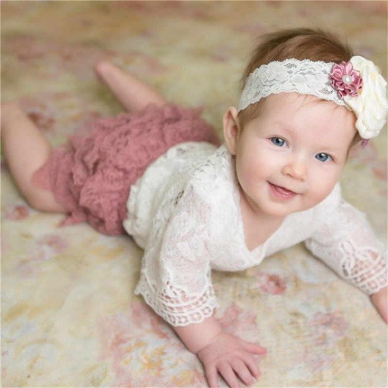 Кружевное боди принцессы топы с леопардовым принтом модные милые кружевные боди для новорожденных девочек белые наряды