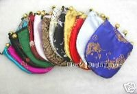SALE WHOLESALE 50 pcs China Silk Jewelry Pouches who101 Wholesale retail Free shipping