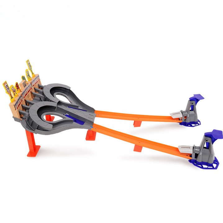 100% Original Box 1:43 Hot Wheels Whirlwind Sporting Track Set Toys Best Gift For Boys Kids Toys Best Choice toy car diecast