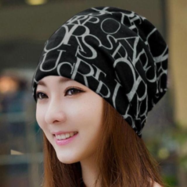 LOVIW Hot Deal Classic vogue Women Men Hip-Hop Cap English Letter Print Baggy Hat Unisex Beanie Cap