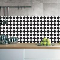45 90cm White And Black Waterproof Wall Sticker Kitchen Bathroom Tile Stickers Wall Decals Decoration Mosaic