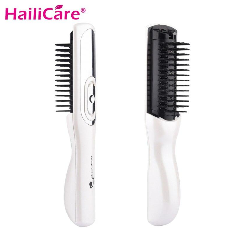 Masaje láser peine del pelo de equipos de masaje peine el crecimiento del cabello tratamiento cepillo de pelo crecer láser pérdida de cabello terapia