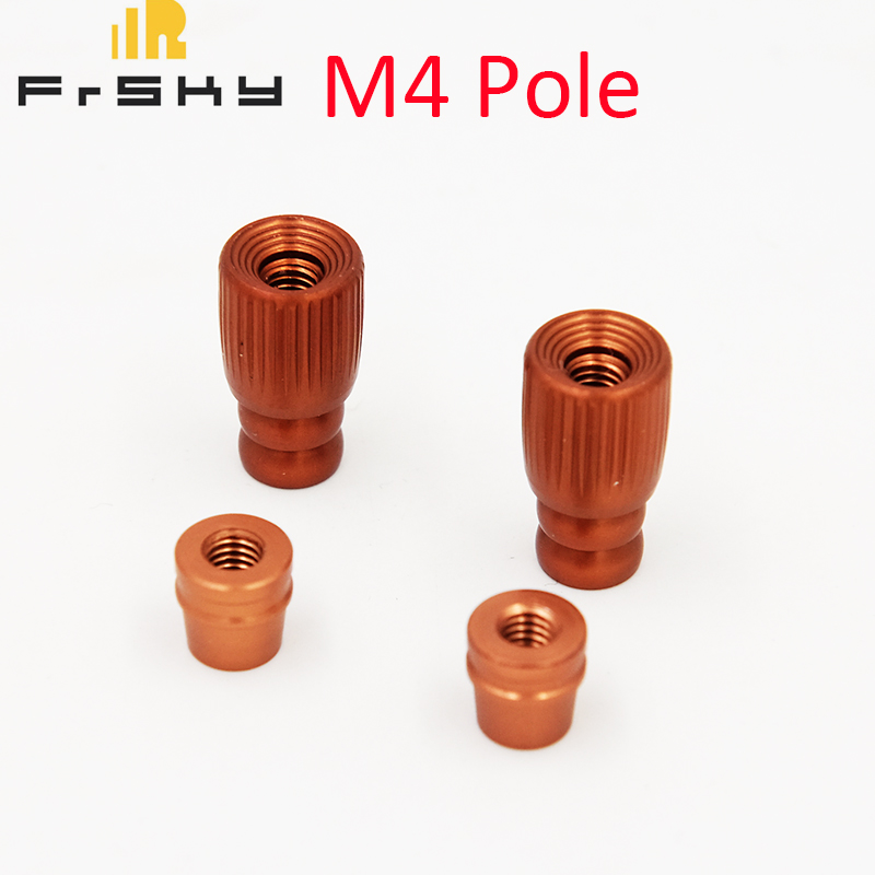 Original Frsky M4 CNC Aluminum Gimbal Stick Ends for X9D PLUS SE X9E X12S for RC Drone FPV Racing new 2 4g 8ch receiver ppm sbus output for frsky x9d plus xjt djt dft dht for rc multicopter fpv racing camera drone spare parts