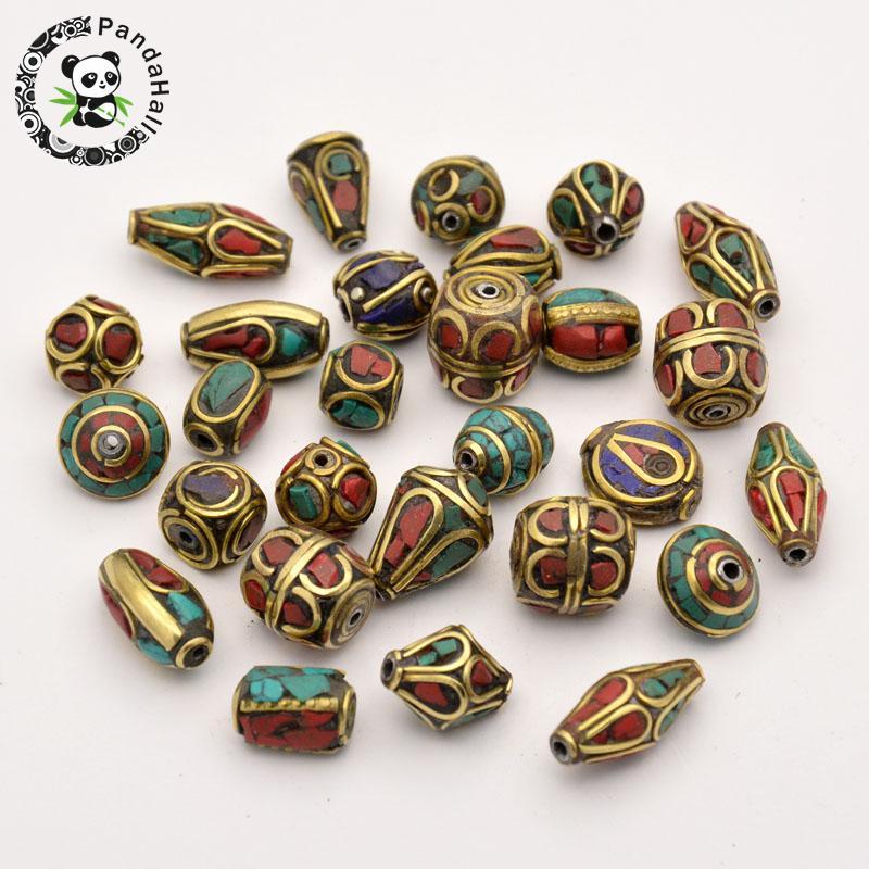 50pcs HOT Sale Handmade Tibetan Fashion Jewelry Making
