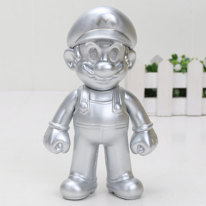 silver mario