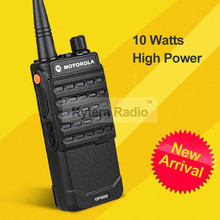 GP6600 Professional Walkie Talkie 10W 4000mAh UHF Long Range 10KM PTT Handheld Two Way Radio + Headset for Motorola