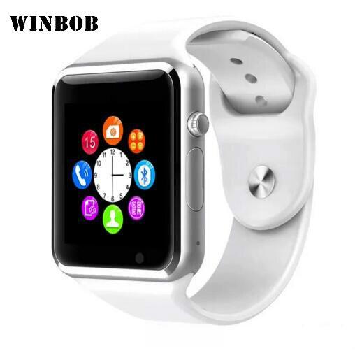 A1 WristWatch Bluetooth Smart Watch Fitness Pedometer Wear SIM Camera Smartwatch For Android Phone Facebook Whatsapp Wristband