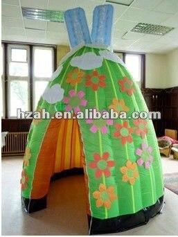 Надувная красочная палатка для украшения