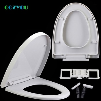 Elongated V Toilet seat  Quick Release Slow Close above installation PP length 429mm to 476mm,width 370mm to 390mm GBP17298PV