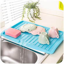 Companion dishes sink drain and plastic filter plate storage rack kitchen shelving Drain board