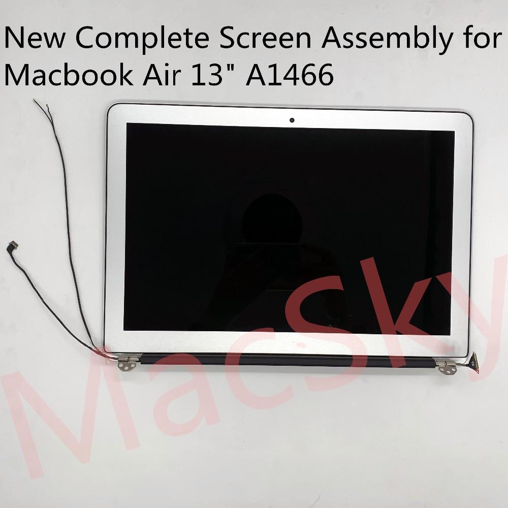 """Tout nouveau A1466 assemblage pour Macbook Air 13.3 """"A1466 LCD écran d'affichage assemblage 661-7475 2013 2014 2015 2016 2017 an"""
