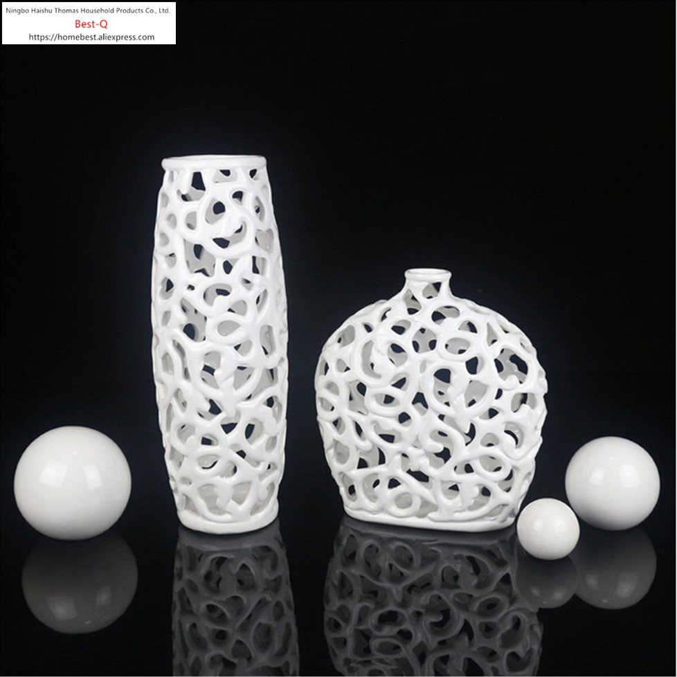 Living room TV cabinet ornaments / modern minimalist fashion creative ceramic crafts furniture, home decorations ornaments