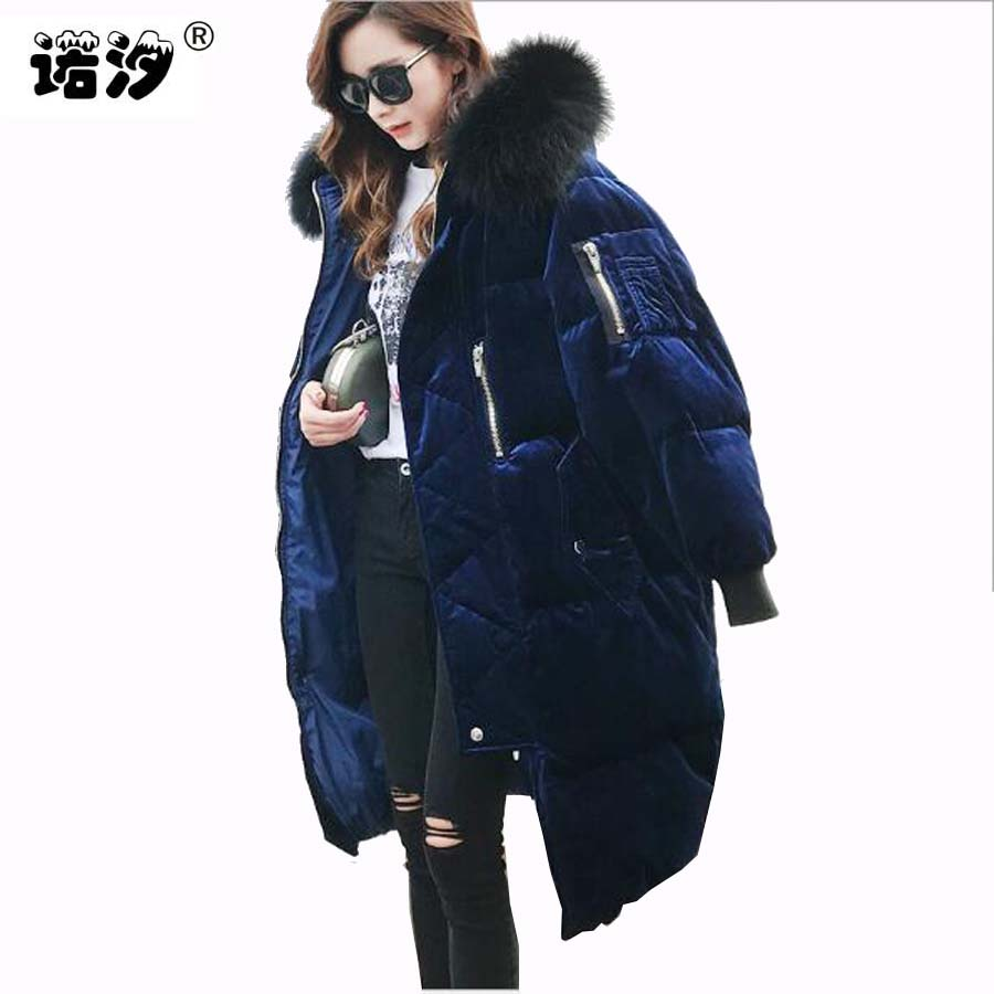 Plus size Women's winter 90% gray duck down coat Artificial fur collar thickening MOM jacket long overcoat maternity outerwear недорго, оригинальная цена